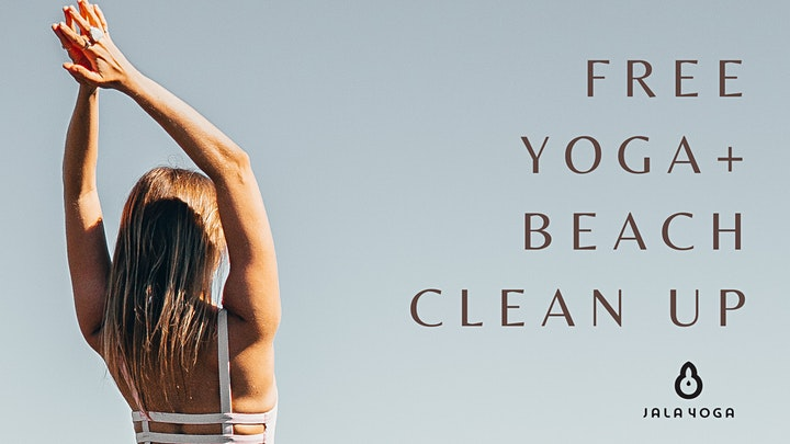 Free Yoga + Beach Clean Up image