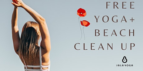 Free Yoga + Beach Clean Up : The ANZAC special tickets