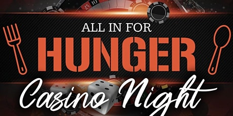 All in for Hunger Casino Night tickets