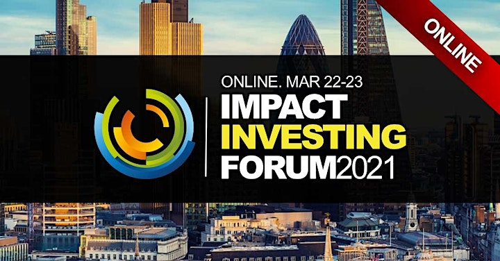 Impact Investment ESG Banking Conference 2021 - Virtual Event (Online) image