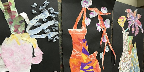 Collage and Create (painting and drawing with scissors a la Matisse!) tickets