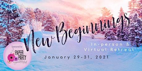 2021 Winter Scrapbook Retreat tickets