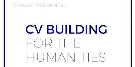 CV Building for the Humanities tickets