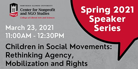Children in Social Movements: Rethinking Agency, Mobilization and Rights tickets