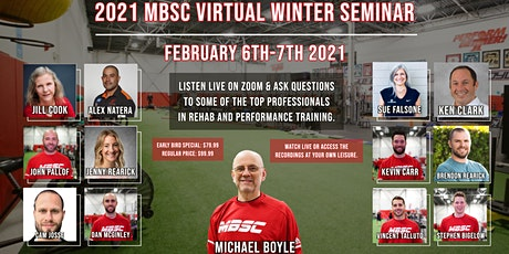 2021 MBSC Virtual Winter Seminar tickets