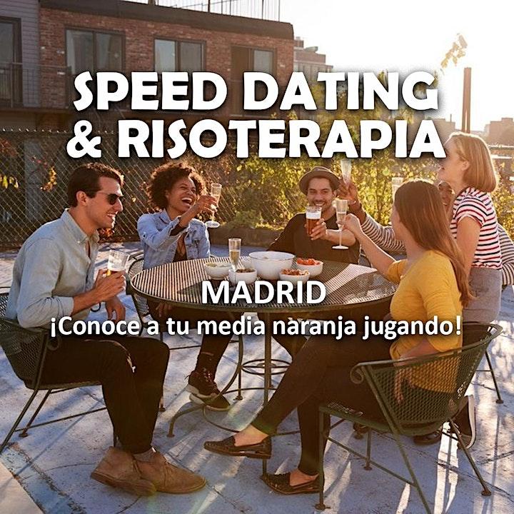 Imagen de LEER DETALLES Speed dating & Risoterapia Madrid (Citas rápidas a ciegas)