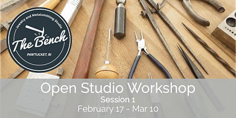 Open Studio - Jewelry Workshop (Session 1) tickets