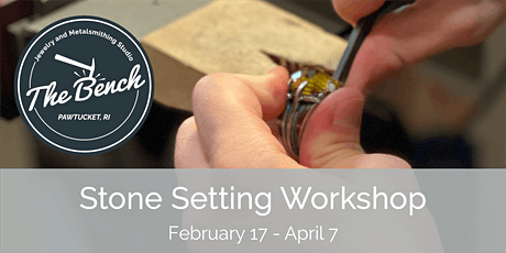 Stone Setting - Jewelry Workshop tickets