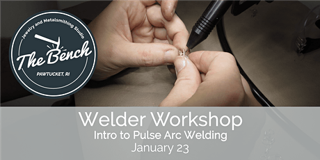 Welding Workshop - Pulse Arc Welding for Jewelers tickets