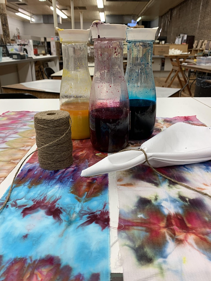 TWO AFTERNOON Ice Dyeing Fabrics with Pam Woodward image