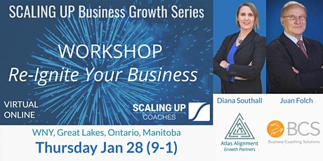 Re-Ignite your Business: Scaling Up Workshop (WNY, Ontario, Great Lakes) tickets