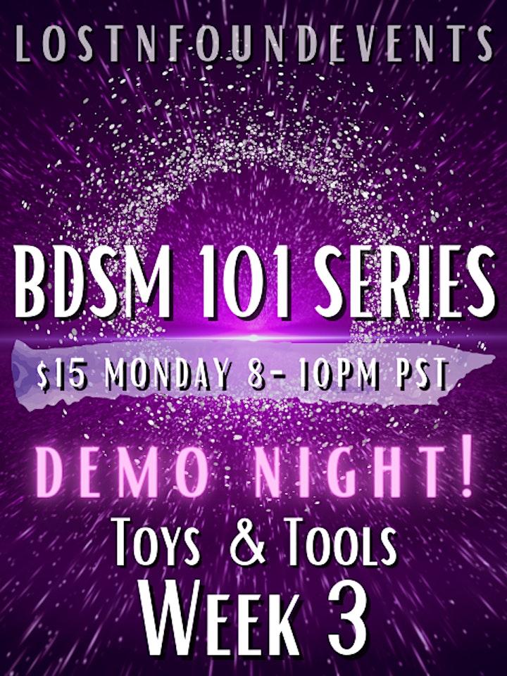LnF Events: BDSM 101 class Feb 1st!! WEEK THREE: DEMO NIGHT! image