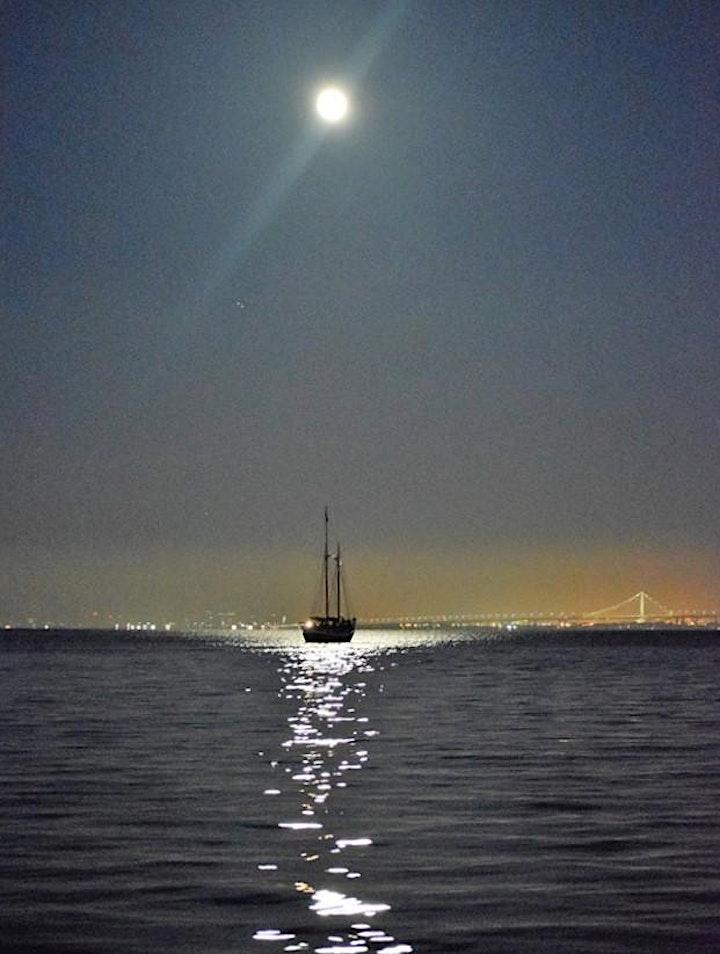 May Full Moonrise and Bay Lights Sail - 2021 image