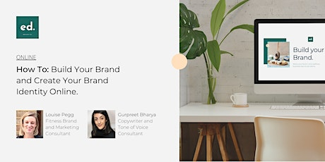 How To: Build Your Brand and Create Your Brand Identity Online tickets
