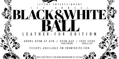 "Black & White Ball ""Leather vs Fur"" Edition tickets"