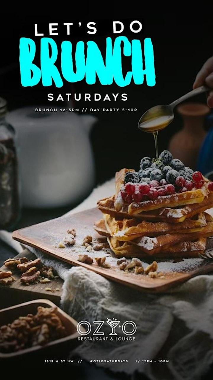 Let's Do BRUNCH Saturdays at Ozio image