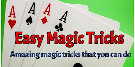 Magic Tricks 101 Free Online Workshop tickets