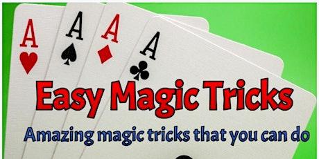 Magic Tricks 101 Free Online Workshop tickets