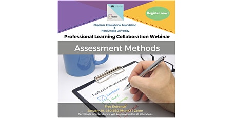 Assessment Methods Webinar (Chatteris x Nord Anglia Collaboration) tickets