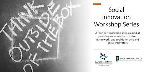 Social Innovation Workshop Series: Information Session tickets