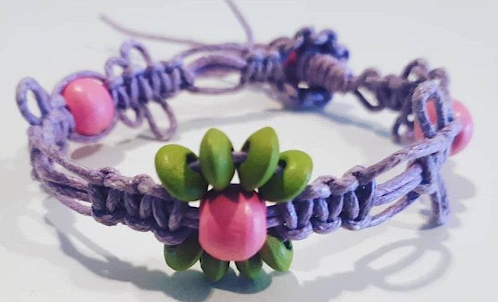 Micro Macrame Jewellery making workshop image