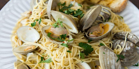 Fresh Italian Seafood Feast - Cooking Class by Cozymeal™ tickets