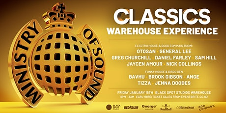 Ministry Of Sound - Classics Warehouse Experience tickets