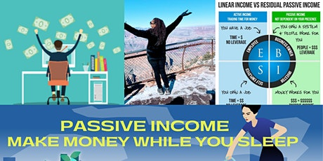 Create Passive Income bilhetes