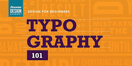 Typography 101 tickets