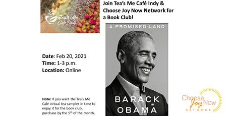 Tea Time: Book Club: A Promised Land by Barack Obama tickets