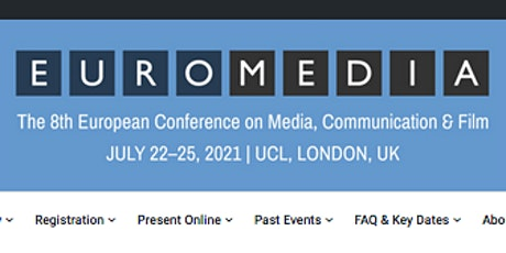 The 8th European Conference on Media, Communication & Film (EuroMedia2021) tickets