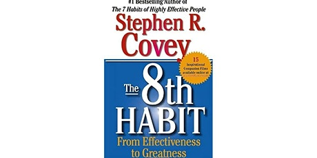 Book Review & Discussion : The 8th Habit tickets