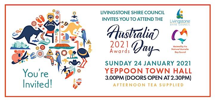 Livingstone Shire  Australia Day Awards image