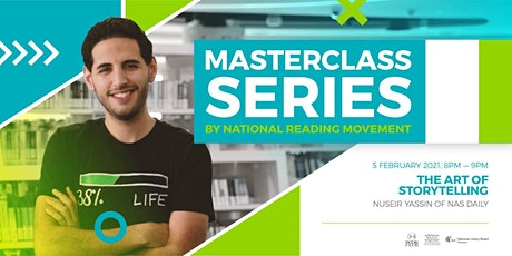 The Art of Storytelling by Nuseir Yassin of Nas Daily  | Masterclass tickets