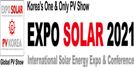 EXPO SOLAR 2021 / PV KOREA tickets