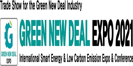 GREEN NEW DEAL EXPO 2021 tickets
