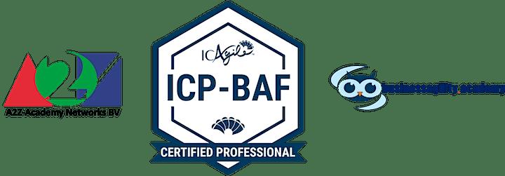 Business Agility Foundations ICAgile - ICP-BAF Online image