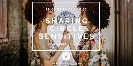 Sharing Circle for Sensitives with Simone & Charles billets