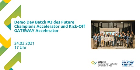 Kick-Off Gateway Accelerator und Demo Day Batch #3 Tickets