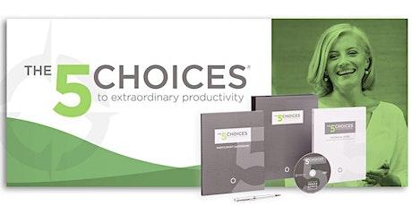 Productivity: The 5 Choices™ to Extraordinary Productivity tickets