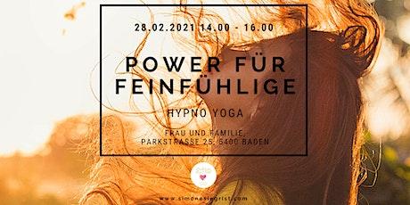 Hypno Yoga Power für Feinfühlige tickets