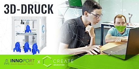 3D-DRUCK SCHNUPPERKURS | INNOPORT-Rakete Tickets