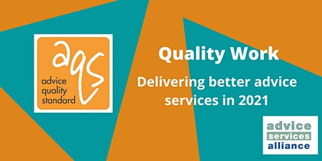 Quality Work: Delivering better advice services in 2021 tickets