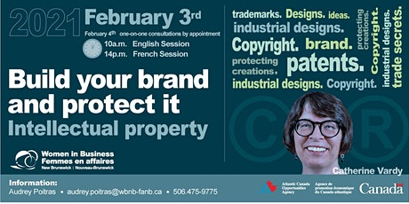 Build your Brand and Protect It! Intellectual Properties tickets