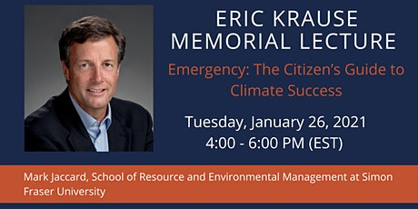 Krause Memorial Lecture: Emergency: The Citizen's Guide to Climate Success tickets