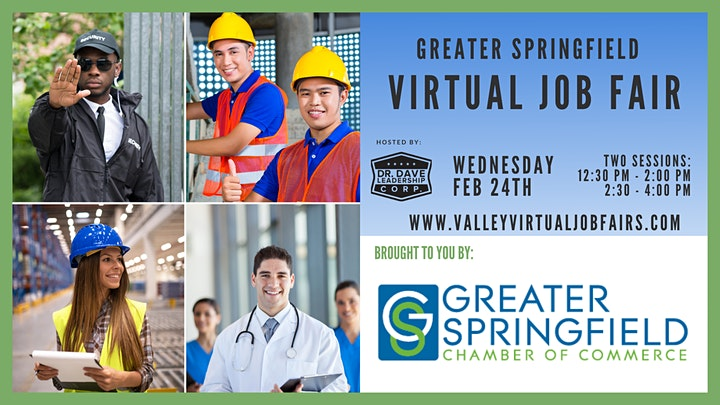 Greater Springfield | Virtual Job Fair (EMPLOYERS ONLY) image