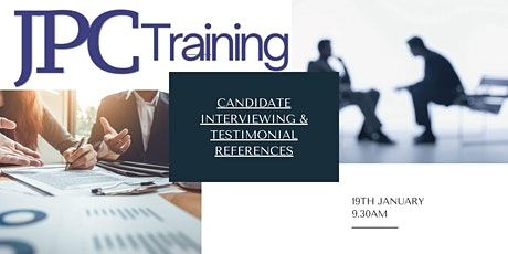 Candidate Interviewing & Testimonial Referencing tickets
