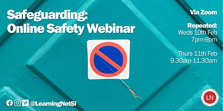 Safeguarding: Online Safety Webinar tickets