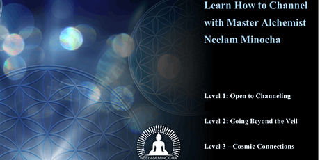 Learn to Channel - Level 3 Cosmic Connections - We are Infinite tickets