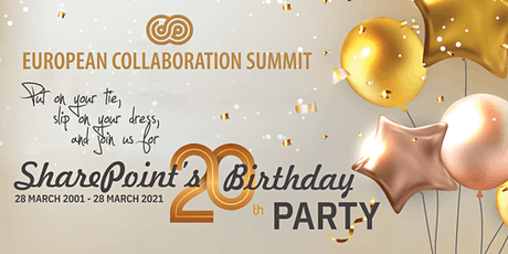 SharePoint's 20th Birthday Party tickets